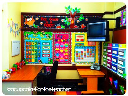 This Lady Has Tons Of Great Ideas For Her 1st Grade Classroom! LOOK At This
