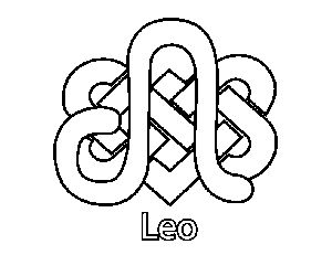 celtic leo coloring page celtic leo download now png format my safe