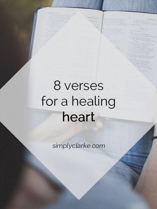 8 Verses for a Healing Heart - Simply Clarke