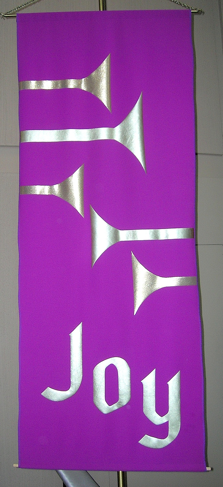 Third Sunday of Advent nave banner