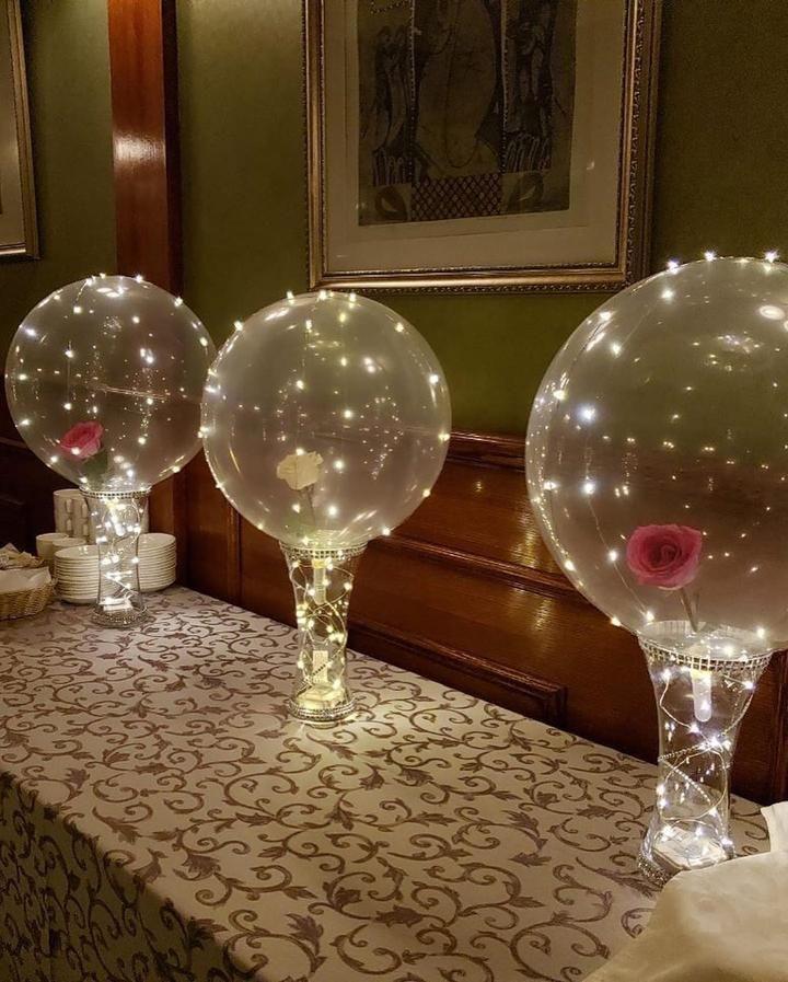 Led Balloon Reusable In 2020 Led Balloons Balloons Pretty Little Sale