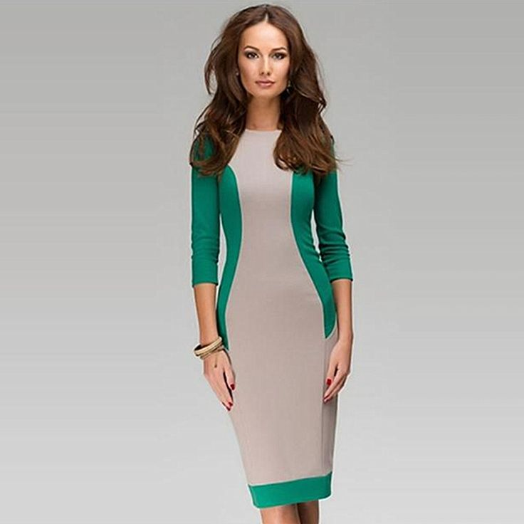 This gorgeous midi dress is super flattering and perfect for a