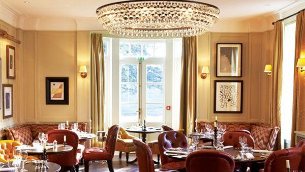 Best hotel restaurant: Lime Wood, Hampshire