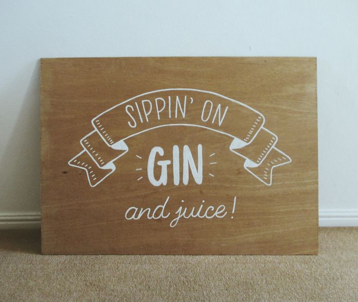 Gin Bar Sign   #wedding #engagementparty #barsignage #handpaintedsignage #wedding #capetownwedding #ginbar