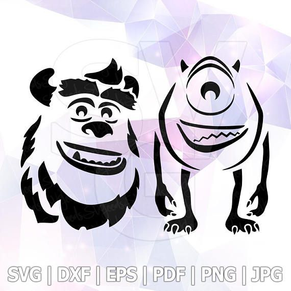 Pin On Monsters Inc Svg Mike Wazowski Sulley