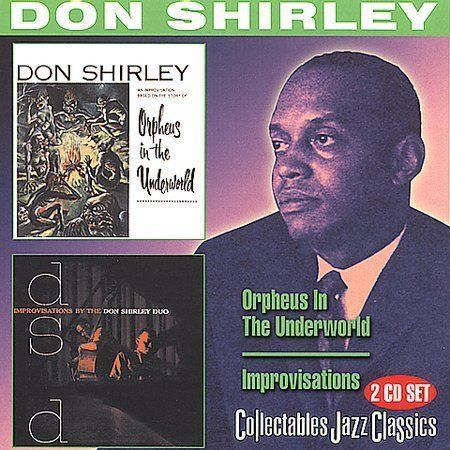 don shirley   orpheus in the underworld   improvisations  CD free shipping