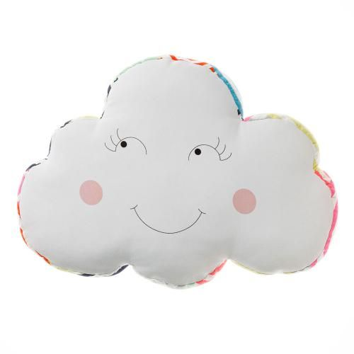 Adairs kids girls cloud cushion bedroom soft furnishings for Soft furnishings online