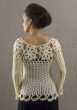 Avalon top - free #crochet pattern