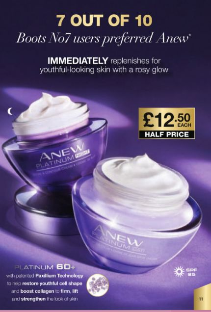 7 Out of 10 Boots No 7 users prefer Anew!