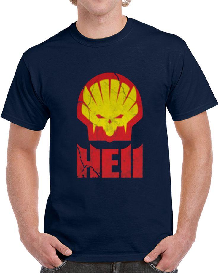 Hell Shell Logo  T Shirt