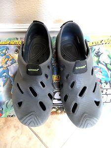 Speedo Boy Toddler Grays Water Shoes Size Large or 9 10 | eBay