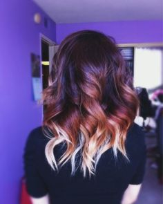 Short ombre color, finding out this is quite a process for my hair, lol....
