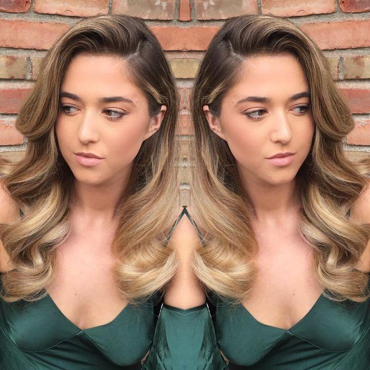 "Raimonda on Instagram: ""Soft old Hollywood glam for this beauty @benagjekaj @fiazsalonspa Color by @beautybyella___ #hollywoodhair #picoftheday #hairoftheday…"""