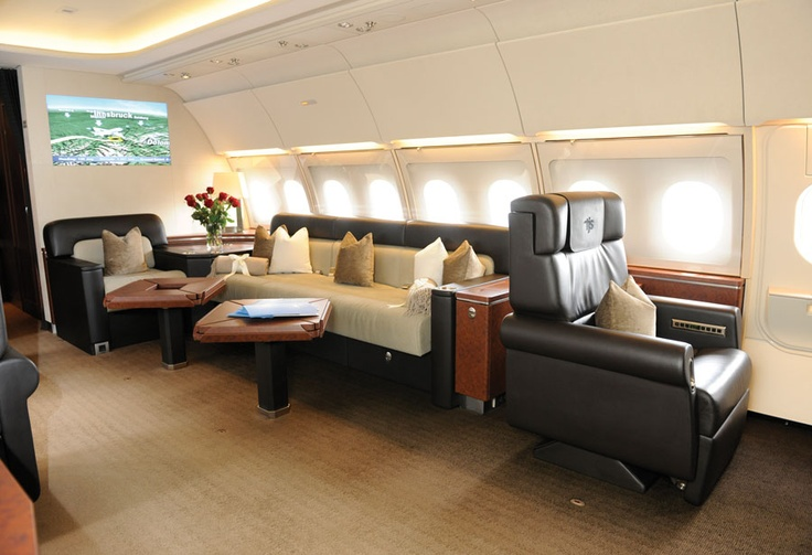 Tyrolean Jet's ACJ318ER carries up to 19 passengers in a VVIP interior. AIN online