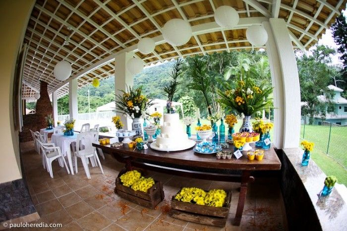 1000+ images about Decoração  Azul e Amarelo on Pinterest