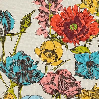 Vintage Prints - highlighting colours of the Home. Choose one and elaborate