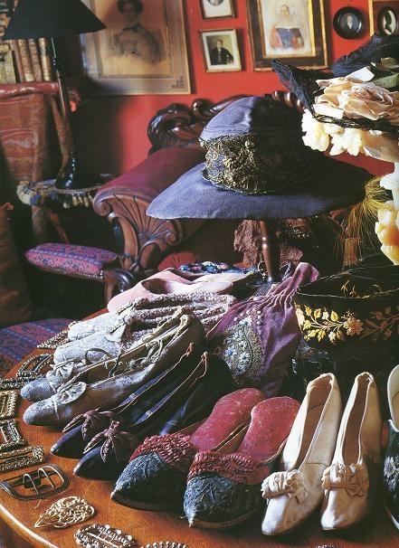 Vintage shoes & hats