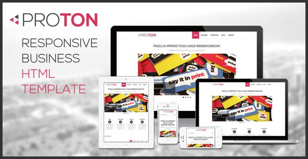 Proton Responsive HTML Business Website Template is a modern, clean website template for corporate and business, it is created with bootstrap framework, easy to use and customized