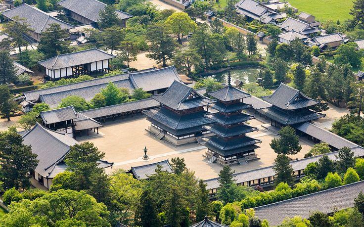 Japanese Temples - Horyu-ji
