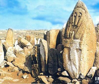 Ancient Civilization In Azerbaijan: Mysterious Cartoon Characters