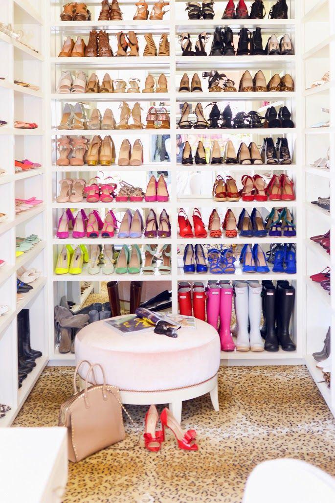 Blog da Pripri: O Closet/Home Office de Rachel Parcell