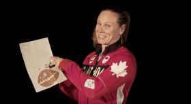 Lors d'une année olympique, les athlètes d'Équipe Canada reçoivent d'innombrables lettres d'écoliers provenant des quatre coins du pays. Voyez ci-dessous...
