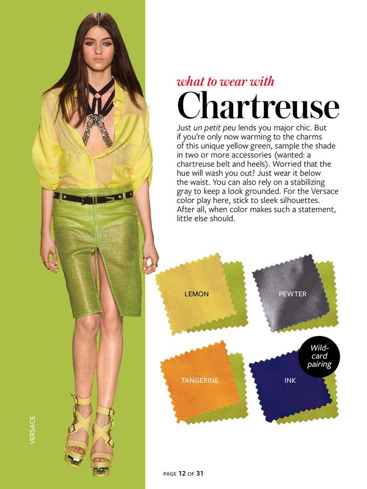 Instyle Color Crash Course - Chartreuse