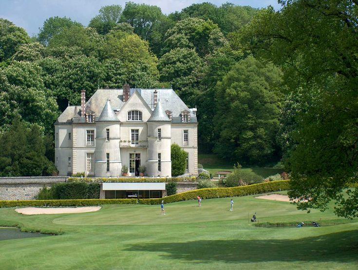 Club house du golf de Villarceaux - France
