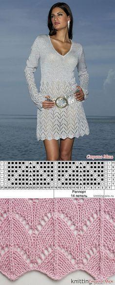 Knit pattern dress ...♥ Deniz ♥.