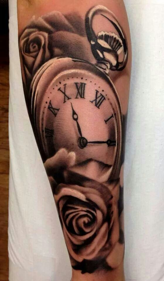 Horloge Romaine Tattoos