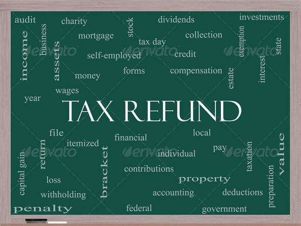 Tax Refund Word Cloud Concept on a Blackboard ... accounting, assets, audit, bracket, business, capital, charity, cloud, collection, compensation, concept, contributions, credit, day, deductions, dividents, employed, estate, exemption, federal, file, financial, forms, gain, government, income, interest, investments, itemized, local, loss, money, mortgage, pay, penalty, preparation, property, refund, return, self, state, stock, tax, value, wages, withholding, word, year Jim Pellerin