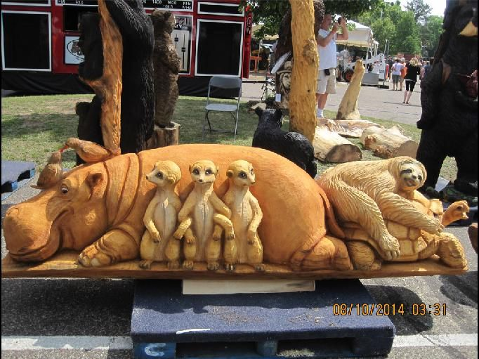 US Open Chainsaw Sculpture Championships | Wisconsin Wood Carving Event
