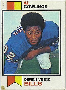 1973 Topps #16 Al Cowlings