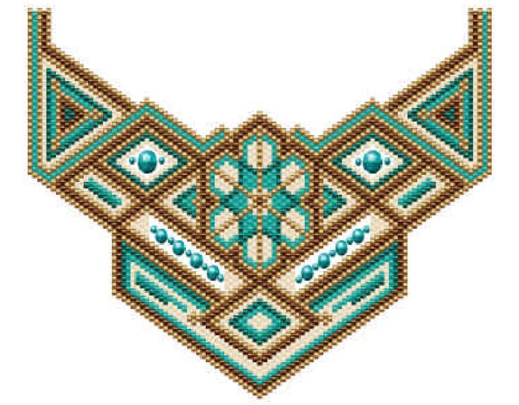 Partz Beaded Necklace Pattern at Sova-Enterprises.com