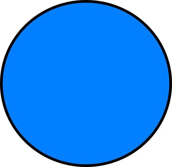 blue circle clip art - photo #20