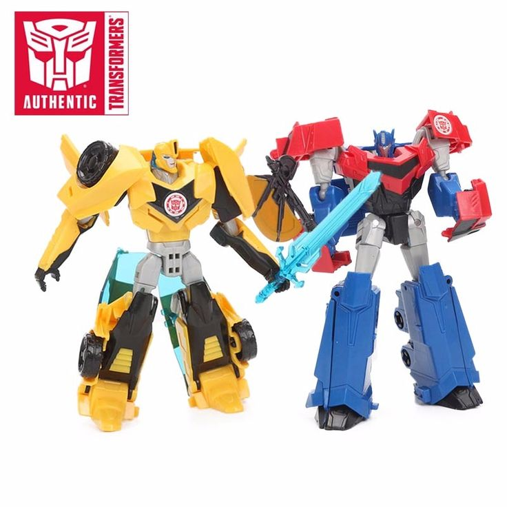 Transformers Robots Toy 12cm Optimus Prime Bumblebee Toy in Disguise Warrior Class PVC Action Figures Collection Model Toy