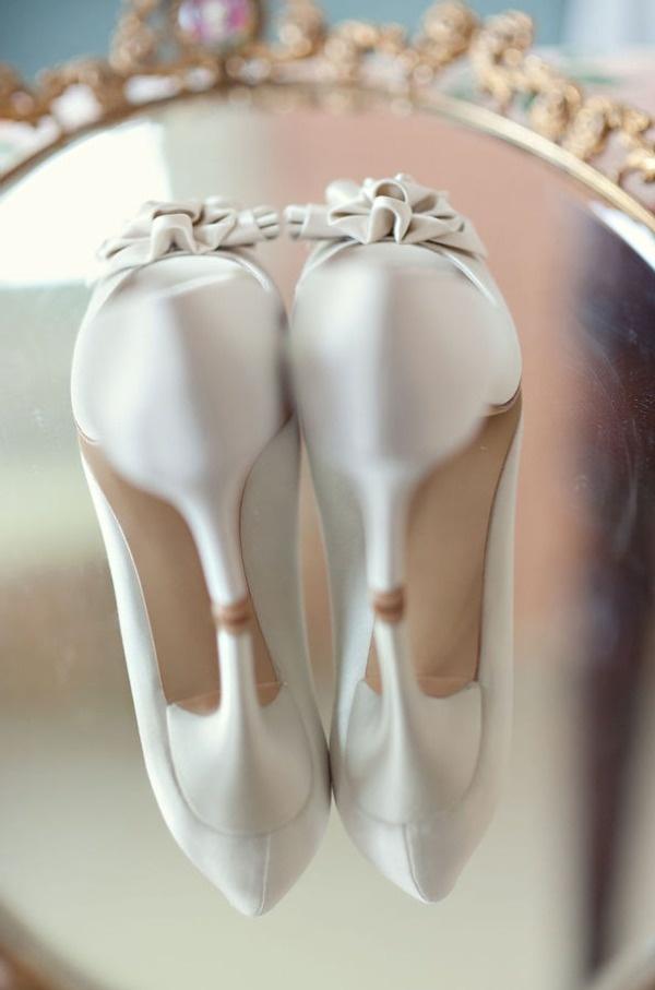 Wedding footwear | wedding shoes | satin heels