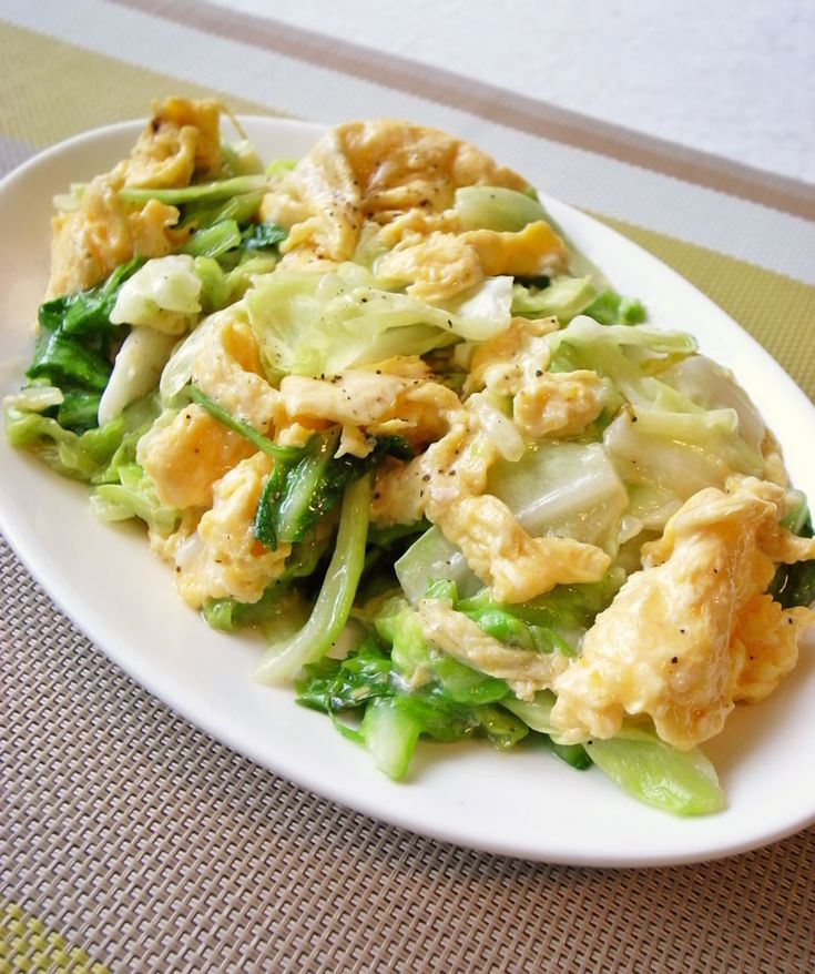 簡単!キャベツと卵だけでも美味しい中華 by moj [クックパッド] 簡単おいしいみんなのレシピが251万品
