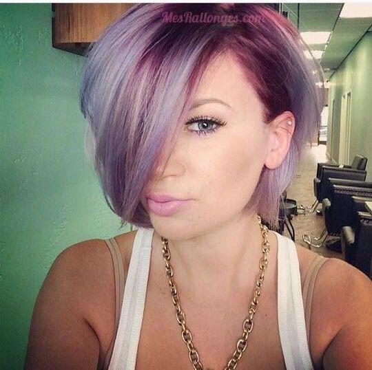 Blond purple!