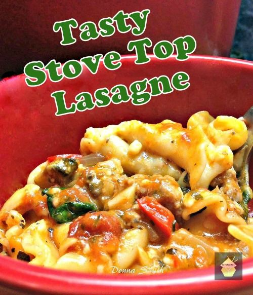 Stove Top Lasagne | Food | Pinterest | Lasagne, Stove and Blog