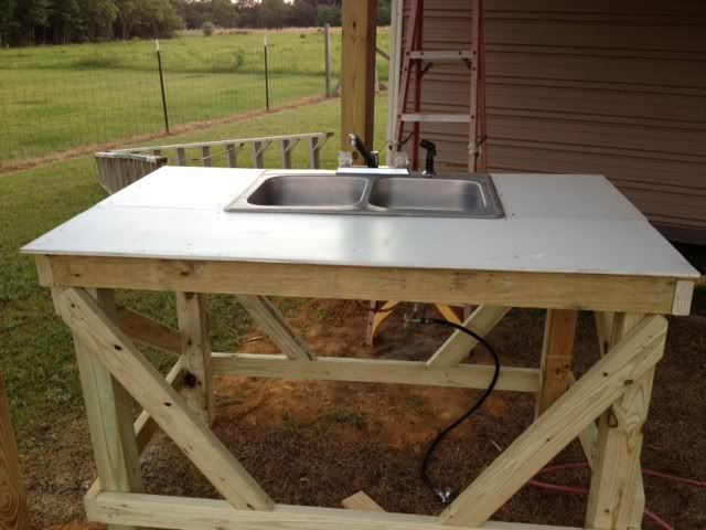 Fish cleaning station google search outdoor kitchen for F table 90 confidence