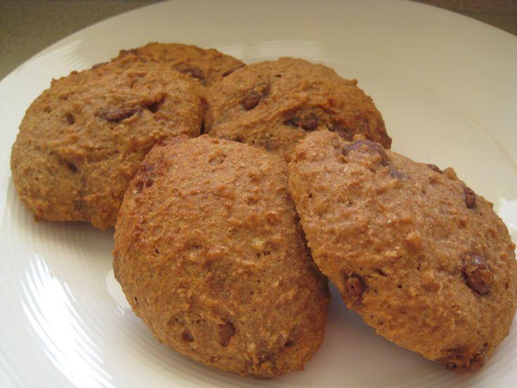 Zachte Amerikaanse mandarijn-chocolade koekjes