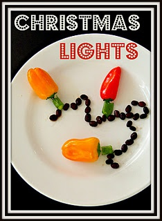Christmas lights... PEPPERS! So creative!: Christmas Food, Misc Features, Christmas Lights, Wintertime Land