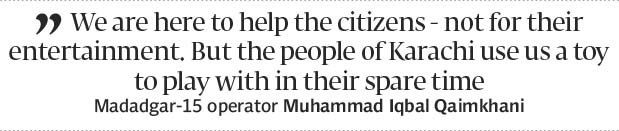 Hello its me: Police at receiving end of helpline - The Express Tribune