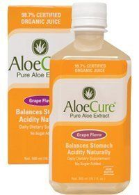 AloeCure Pure Aloe Extract for Digestive Health