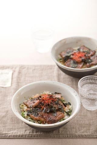焼肉菜飯丼|キユーピー3分クッキング|CBC公式サイト
