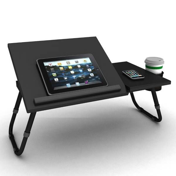 Product Image for Adjustable Laptop Tray in Black 2 out of 3