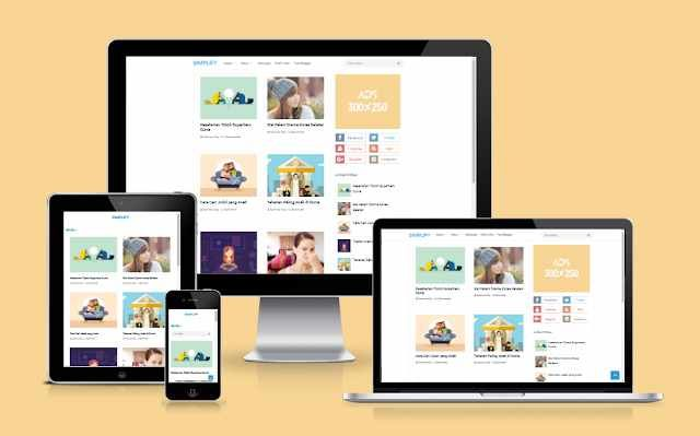 Download Simplify 2 Redesign by Blogger Funda | Blogger