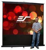 Elite Screens - Reflexion Series Portable Projector Screen - Black
