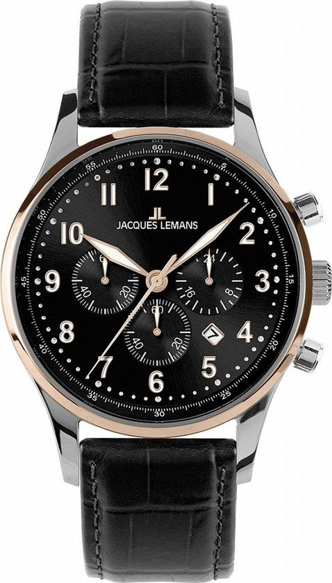 JACQUES LEMANS Heren hrologe -  Classic London - 1-1616C